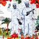 """関口和之 featuring 竹中直人 - Kazuyuki Sekiguchi featuring Naoto Takenaka - 口笛とウクレレ"""" [CD Sleeve Artwork] / 2000 AD : 小野英作 - Eisaku Ono(Nana)"""